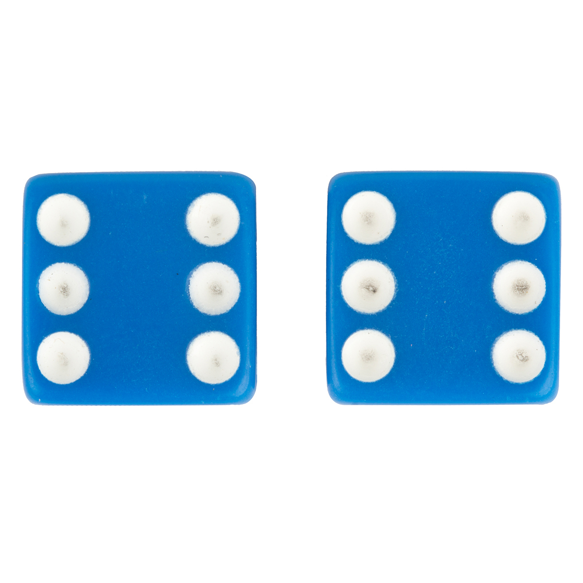 Trick Top Valve Caps Dice-Blue