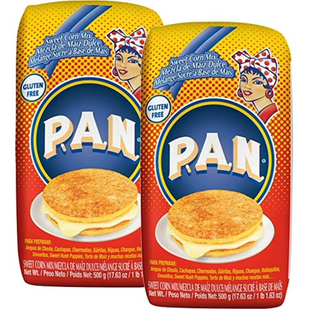 PAN Precooked Sweet Corn Meal 17.6 oz. (Pack of