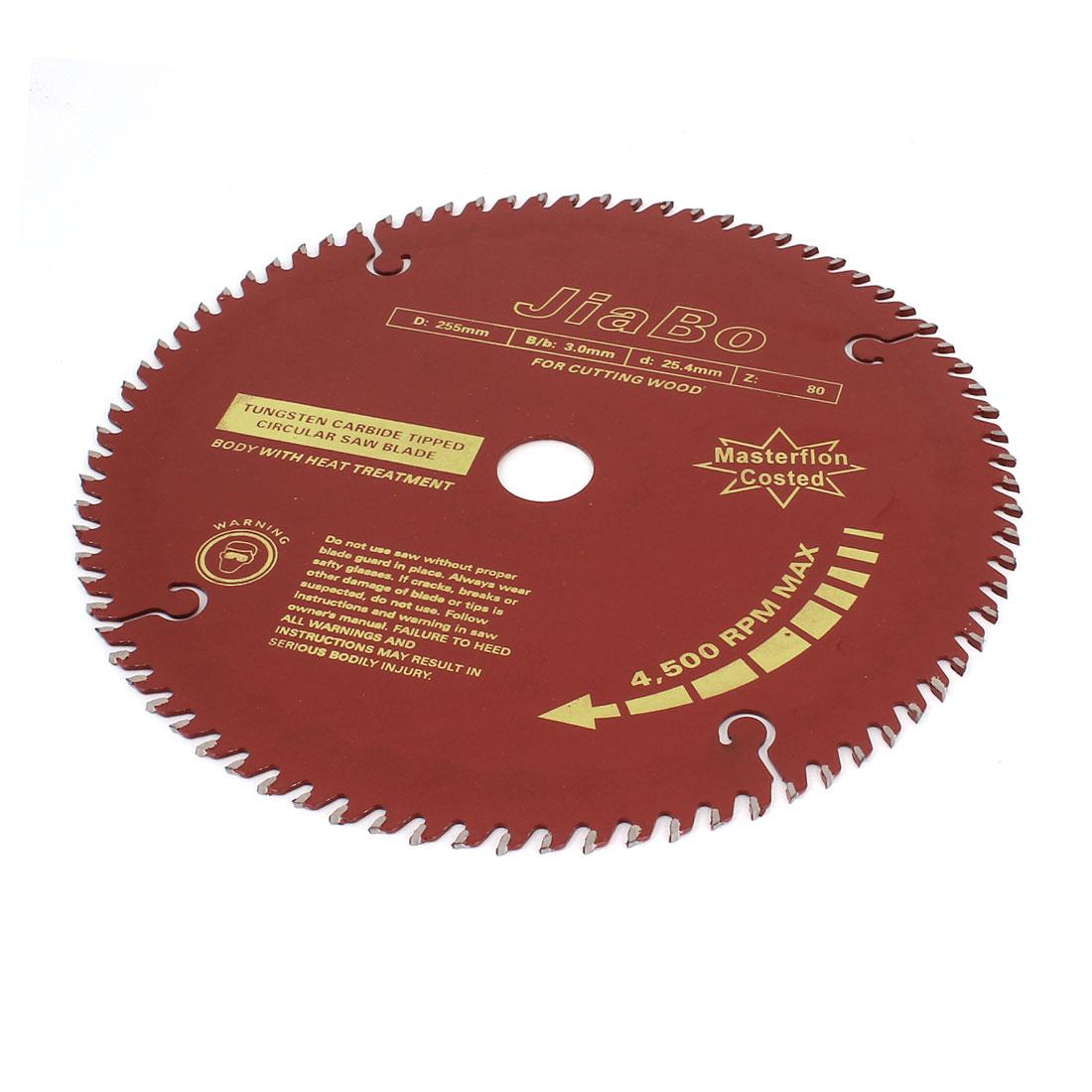 Wood Cutting 255mm 10\