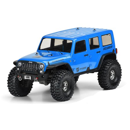 HRP Jeep Wrangler Unlimited Rubicon Clear Body, For Trx-4 (2008 Jeep Wrangler Unlimited Rubicon)