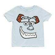 Monsters University Big Face Sulley Movie Mighty Fine Juvenile T-Shirt Tee