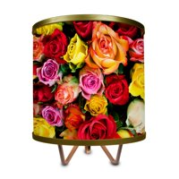 ArtLight Bouquet of Roses Tripod Table Lamp