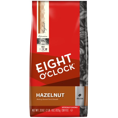Eight O'Clock ® Hazelnut Whole Bean Coffee 33 oz. Bag