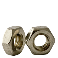 "#6-32x1/4"" Hex Nut Machine Screw, Stainless Steel (18-8), (inch) (Quantity: 100)"