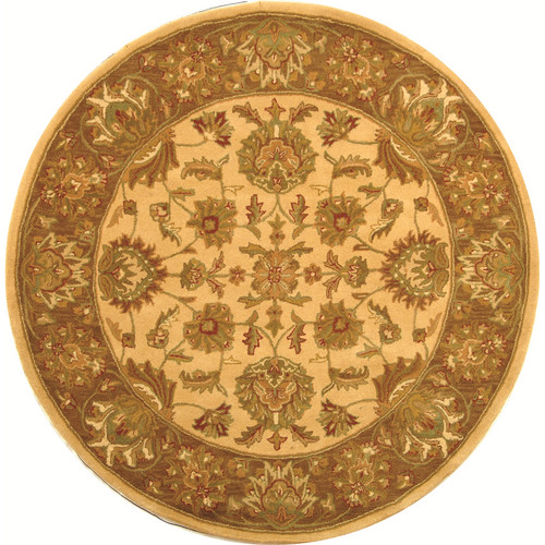 Safavieh Heritage Ivory/Brown Area Rug