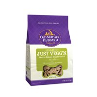 Old Mother Hubbard Classic Crunchy Natural Dog Treats, Just Vegg'N Small Biscuits