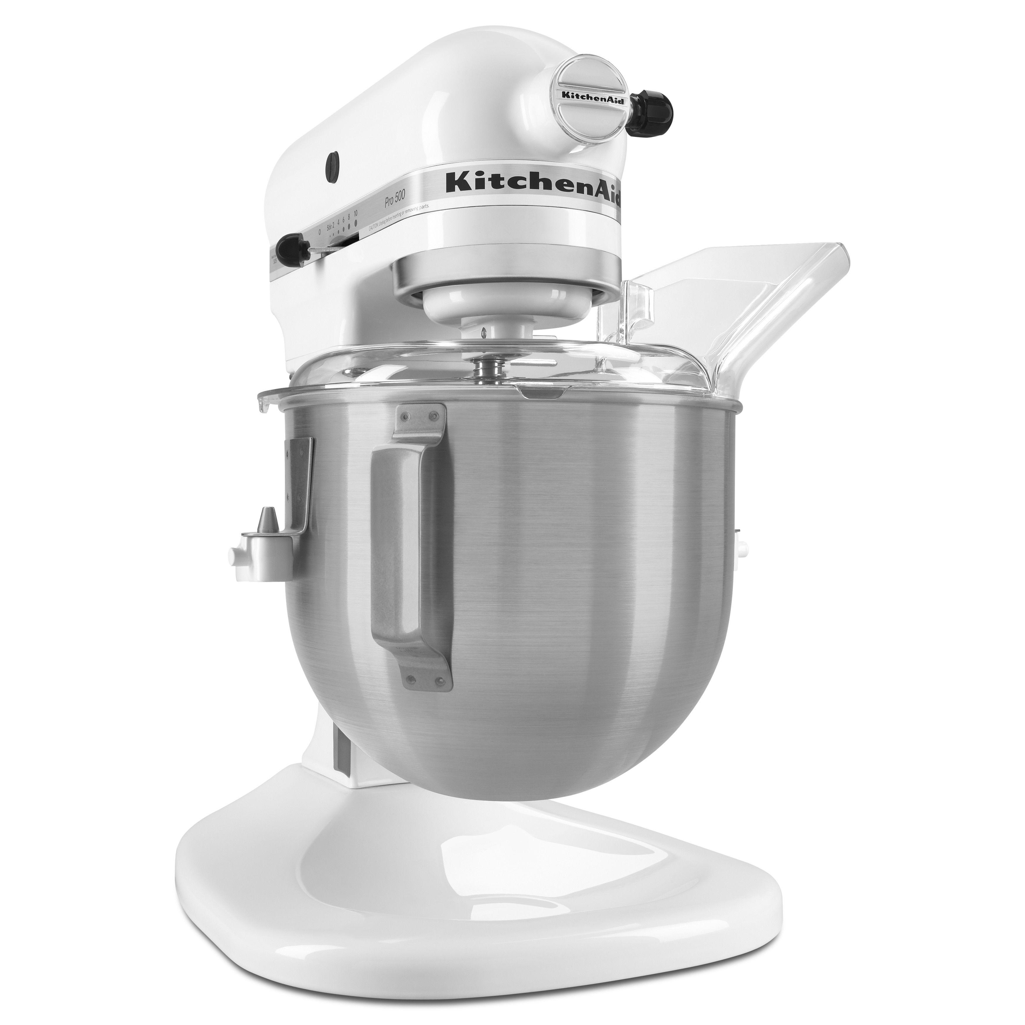 KitchenAid KSM500PS Pro 500 Series 5 Qt. Stand Mixer - White ...