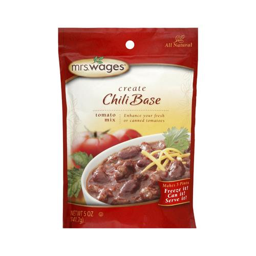 Kent Precision Foods Group W537-J4425 Chili Base Tomato  & Canning Mix, 5-oz.