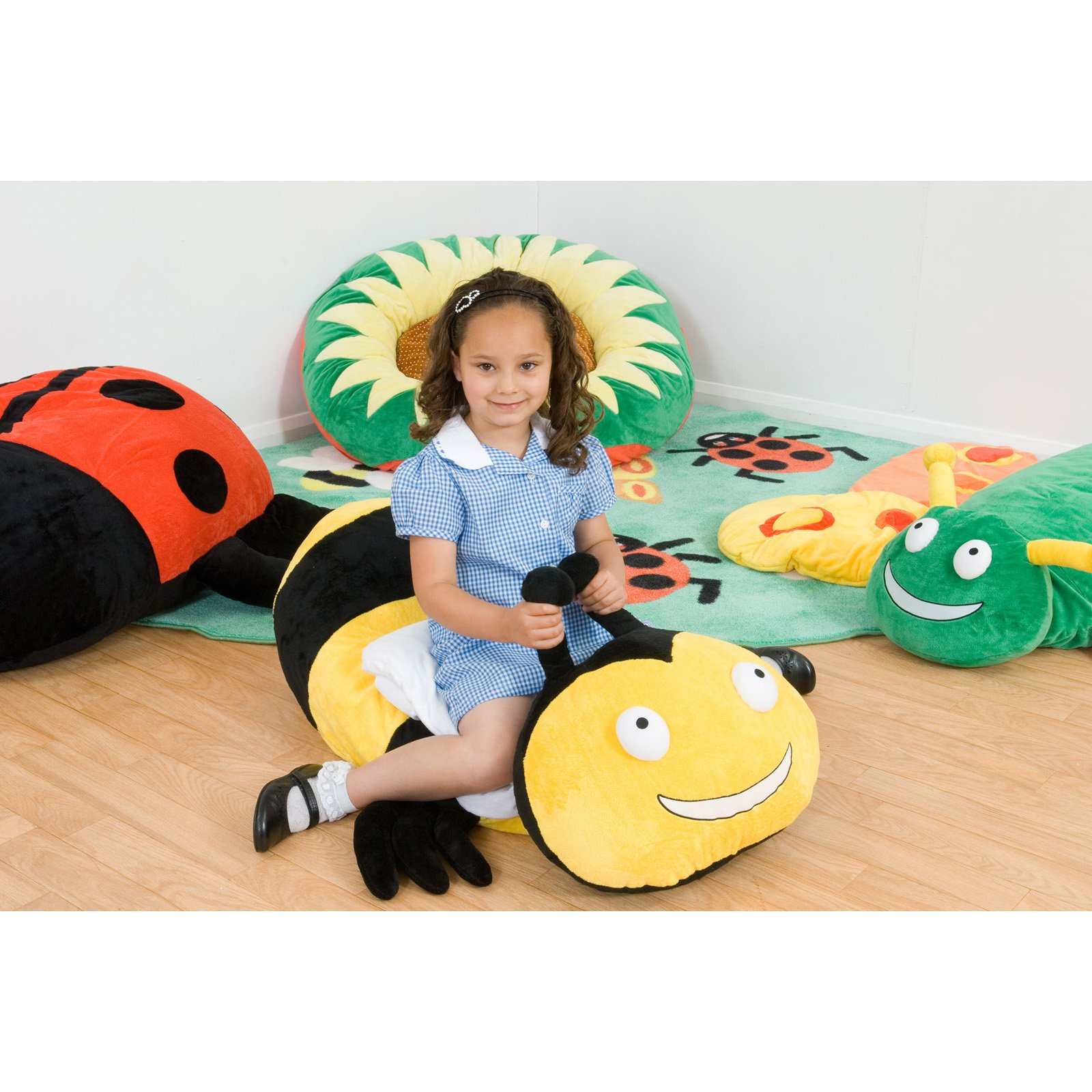 Kalokids Buzz Bumble Bee Giant Floor Cushion