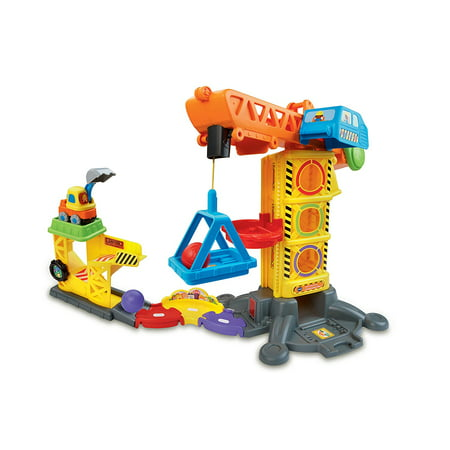Go! Go! Smart Wheels Learning Zone Construction Site, Enhance your child's creativity with Go! Go! Smart Wheels toddler toys; kids build their own interactive.., By VTech - Construction Zone
