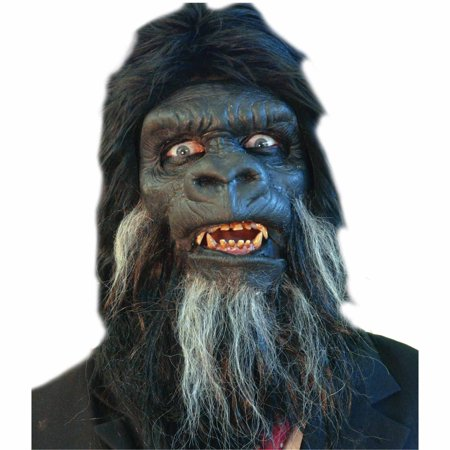 Prosthetic Makeup Halloween (Gorilla Face Foam Prosthetic Adult Halloween)