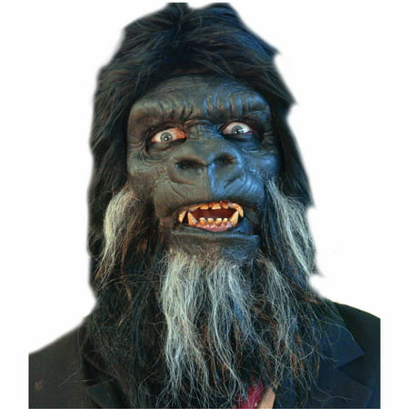 Gorilla Face Foam Prosthetic Adult Halloween Accessory