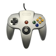 Silver Replacement Controller for Nintendo N64 by Mars Devices