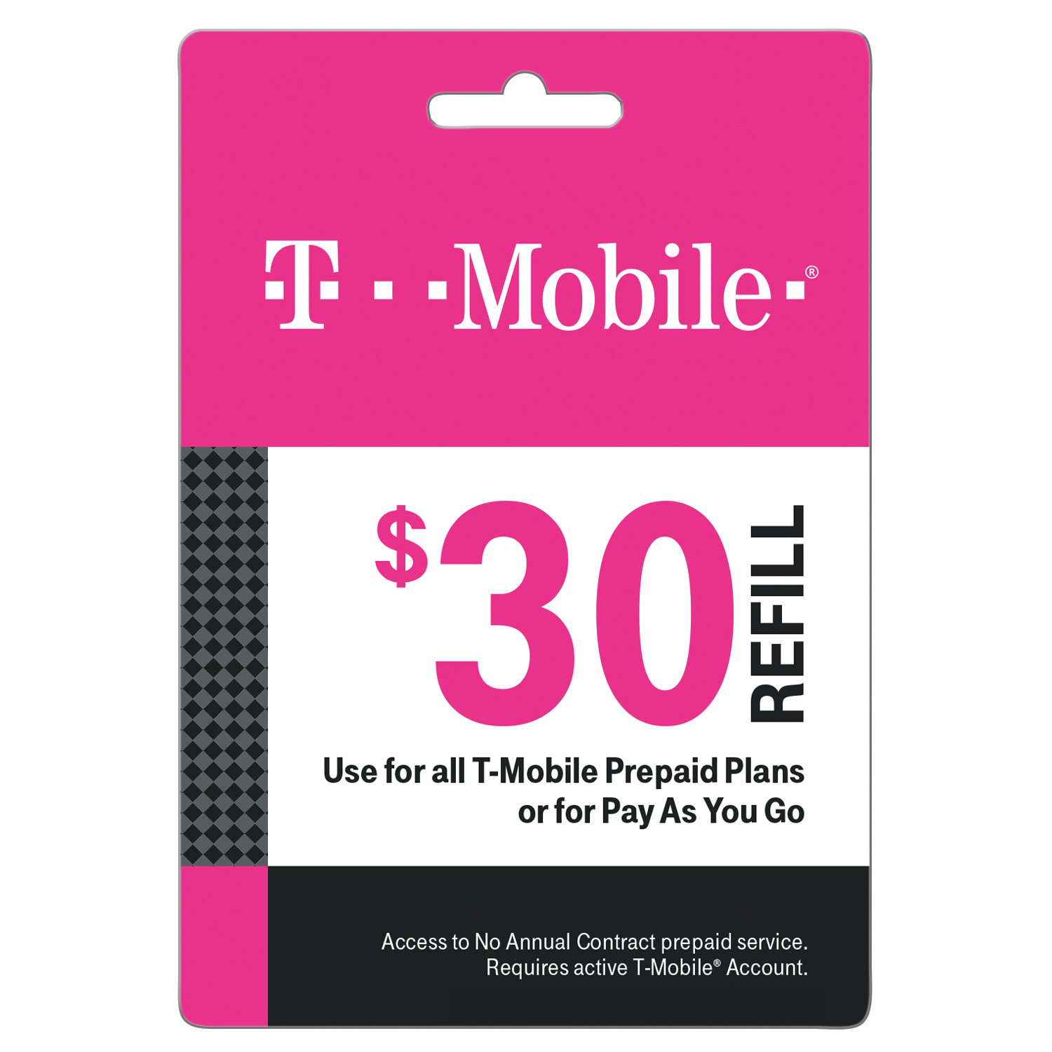 T-Mobile $30 Prepaid Mobile Internet On-Demand Pass (Email Delivery)