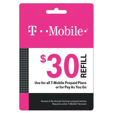 T-Mobile $30 Prepaid Mobile Internet On-Demand Pass (Email