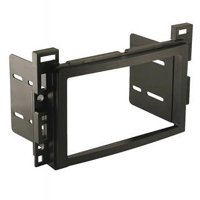 product image scosche gm1599b - 2004-up chevrolet malibu double din  mounting dash kit for car radio