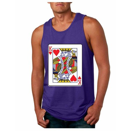 f417110c0619e Allntrends Couple Tank Tops Queen And King Cards Valentine s Day ...