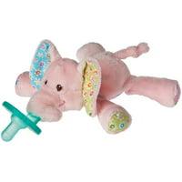WubbaNub Ella Bella Elephant Pacifier - Mary Meyer Limited Edition