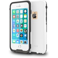 CellEver iPhone 6 / 6s Case Waterproof Shockproof IP68 Certified SandProof SnowProof Full Body Protective Cover Fits Apple iPhone 6 and iPhone 6s (Black)