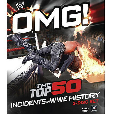 Warner Brothers Omg! Top 50 Incidents In Wwe  Bd Std Ws