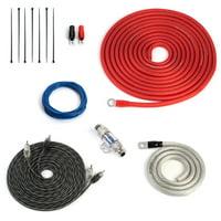 Carwires AIK-PS8000 - 500 Watt 8-AWG Car Amplifier Install Kit