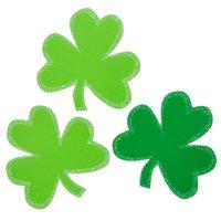 Large Shamrock St. Patrick's Day Confetti, 25ct