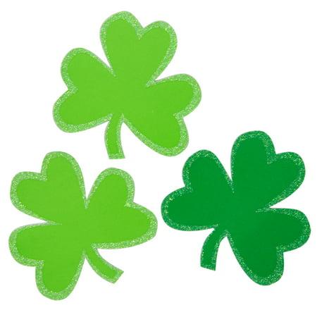 St Patrick Decorations (Large Shamrock St. Patrick's Day Confetti,)