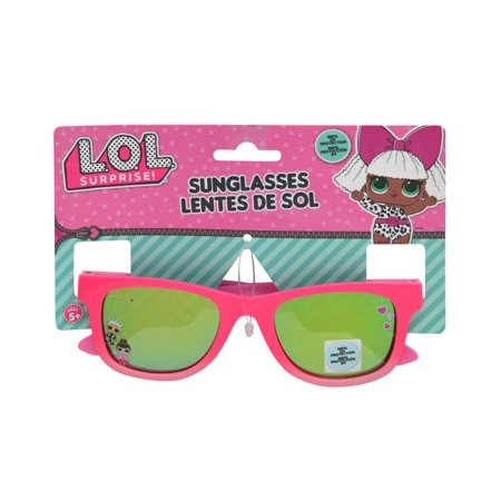 Pony LOL Surprise Childrens Pink Sunglasses Novelty Character Fashion Accessories ()