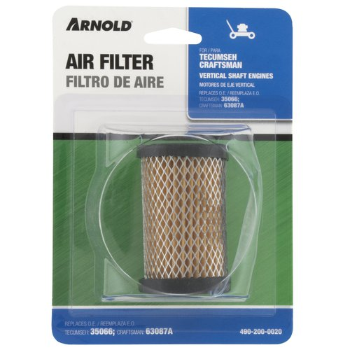 Arnold Tecumseh Replacement Air Filter, 1.6-5.5