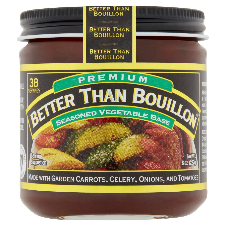 Premium Seasoned Vegetable Base, 8 ounces (227 grams) - (Pack of 2)