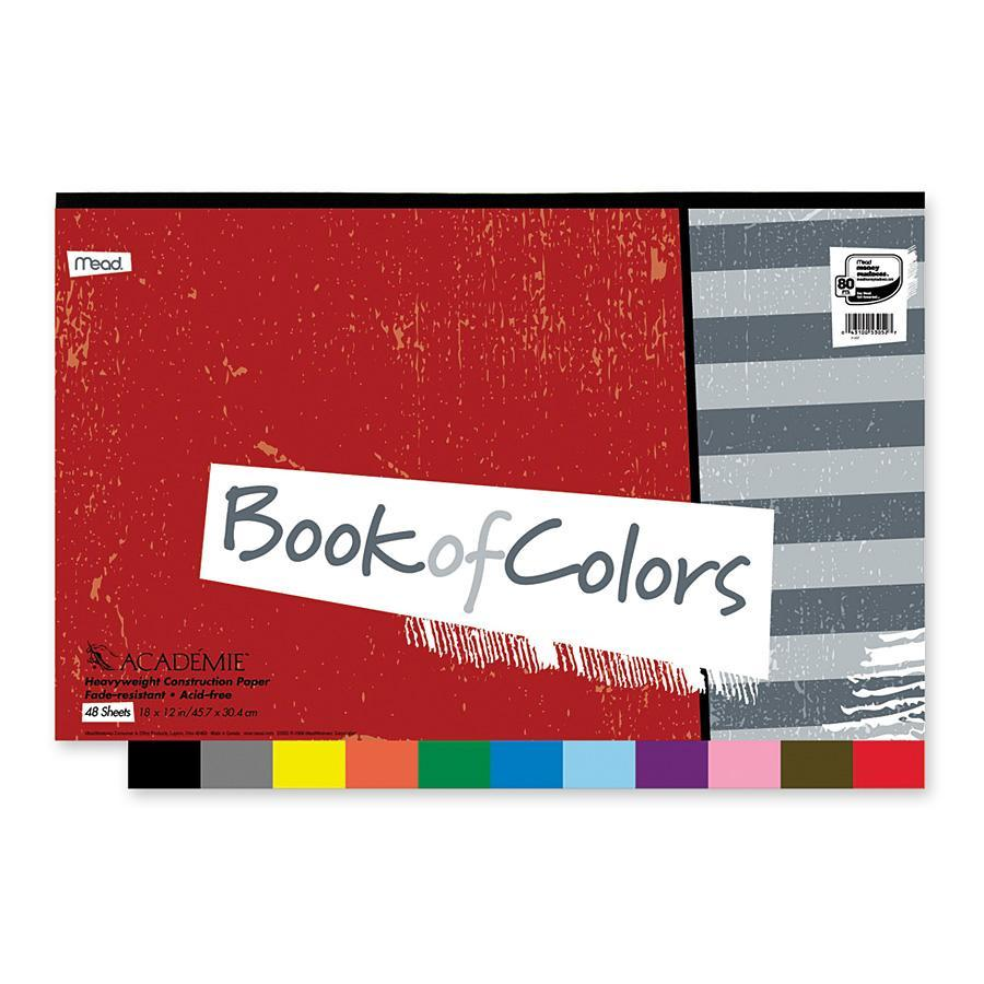 Mead, MEA53052, Academie Book Of Colors, 1 / Each, Assorted