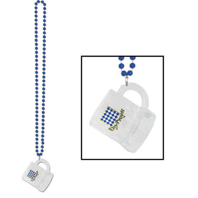 Beistle 50798I 2 Ozs Beads with Oktoberfest Mug - Pack of 12
