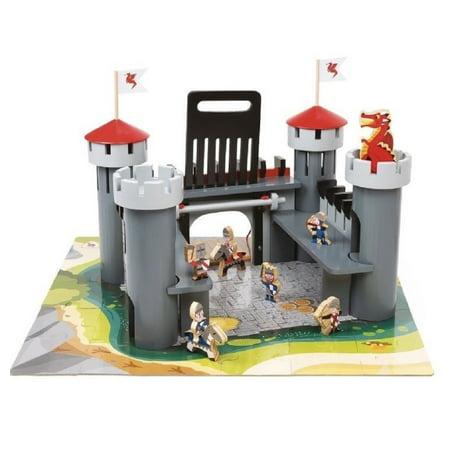 Alex Wooden Dragon Castle Set 55 Pieces