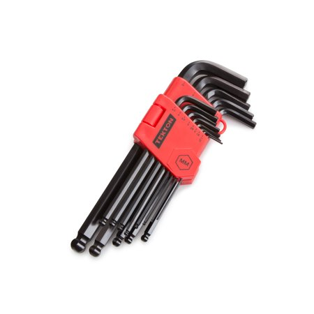 TEKTON Long Arm Ball End Hex Key Wrench Set, 13-Piece (1.27-10 mm) | 25272