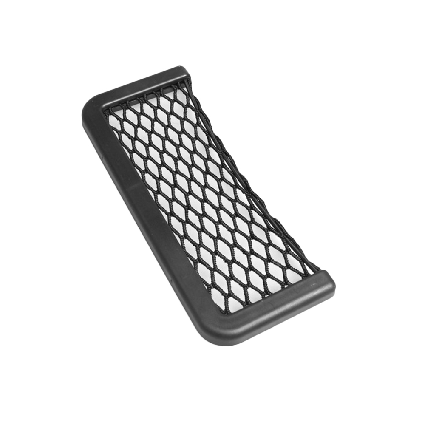 Black Car Net Pocket Handbag Holder Seat Back Organizer Mesh/— Large Capacity Bag,Trunk Storage Net,Cargo Tissue Holder,Phone Holder Pocket Organizer
