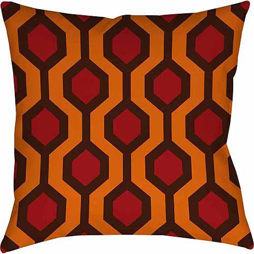 IDG Carpet Red Indoor Pillow