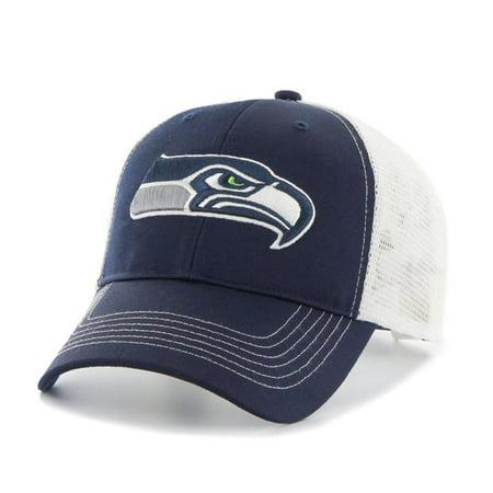 Fan Favorites F-RYCFT28TLP-LN NFL Seattle Seahawks Mass Raycroft Cap, Royal - One Size](Seattle Seahawks Costume)