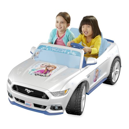 Fisher-Price Power Wheels Smart Drive Disney Frozen Ford Mustang ()