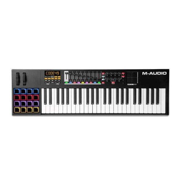 M-Audio Code 49 Black Full Feature USB MIDI Keyboard