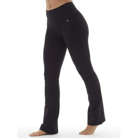 - bally women's core active tummy control yoga pant regular length