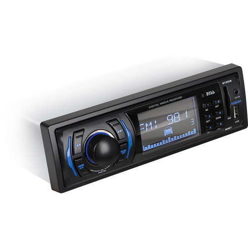 Boss Audio 612UA MP3 Compatible Solid State Receiver, AM/FM Receiver, USB/SD