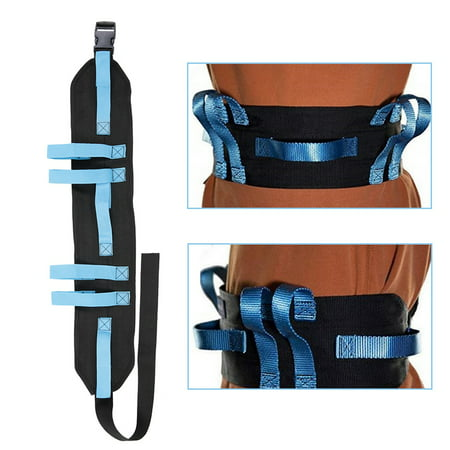 HURRISE Gait Belt Transfer & Walking Moving Tool with Hand Grips Quick-Release Buckle Patient Safety, Gait Belt, Patient (Best Moving Away Gifts)
