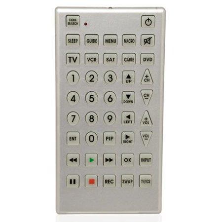 big button universal remote manual