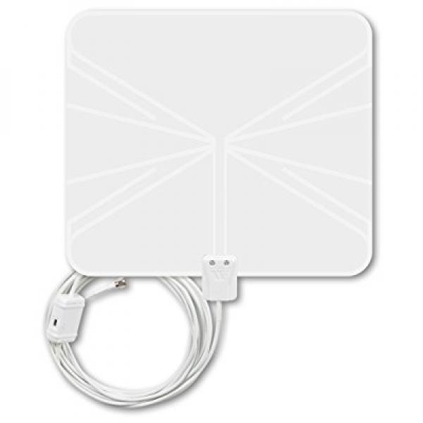 Winegard FlatWave Amped Indoor Amplified HDTV Antenna (FL...