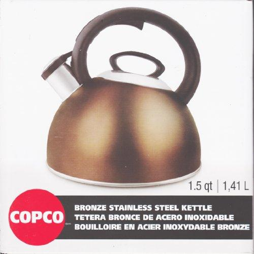 Copco Cookware - 1.50 Quart Kettle - Stainless Steel - 1each (2503-1401)