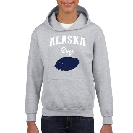 Alaska Boy Youth Hoodie Hooded Sweatshirt thumbnail
