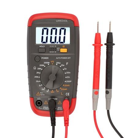 - Digital Multimeter DMM 18 Range Pro LCR Tester Resistance Capacitance Inductance