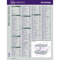 ICD-9-CM 2013 Express Reference Coding Card Dermatology