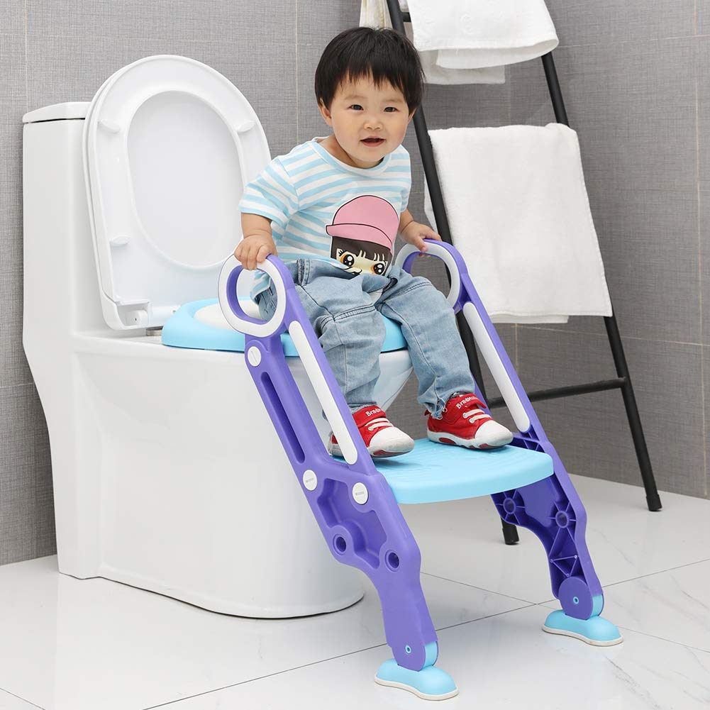 Video for potty training, toilet kids seat, what age can i