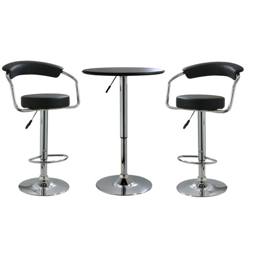 Adjustable Height Bar Table